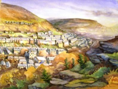 Sylvia Lewis, views of Tonypandy