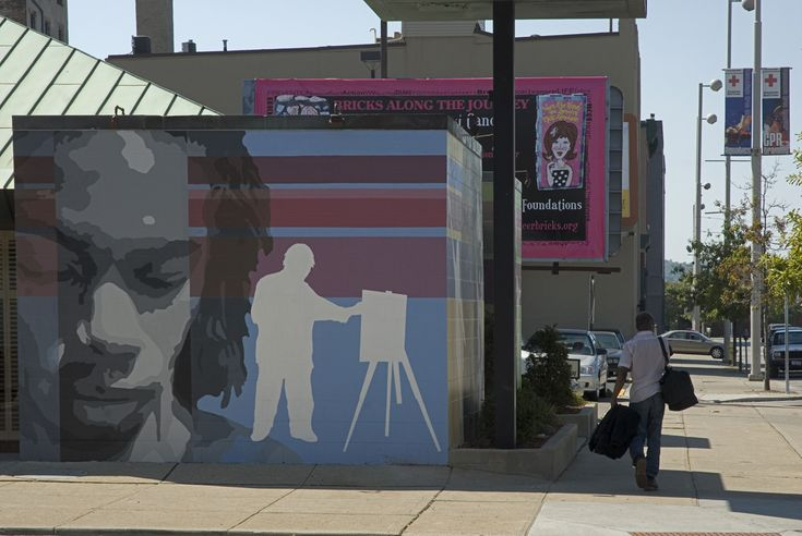 The Face of the Arts - MuralWorks Public Art by ArtWorks