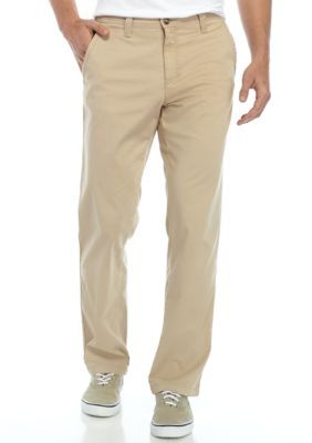Ocean & Coast Men's Sandy Tan Chino Pants - Sandy Tan - 40 X 32