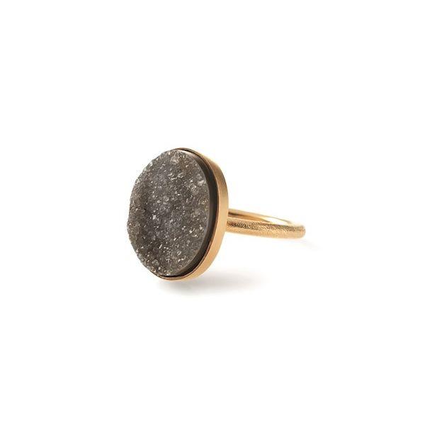 Pernille Corydon Ring, Eldfjall Stor, Guld/Sort