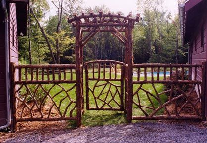 Glasco Rustic Arbor