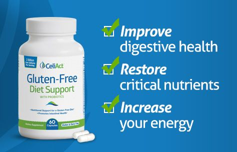 CeliAct vitamin supplements are specially formulated for ...