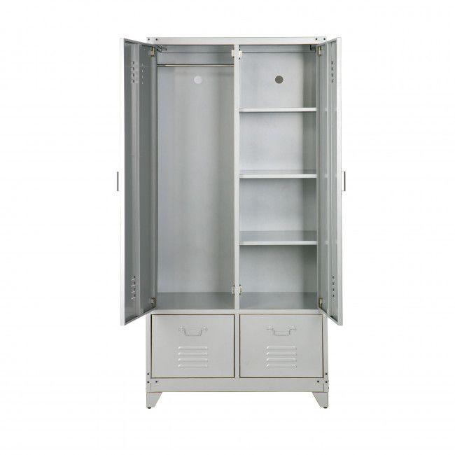 Armoire En Metal Locker Casiers Metalliques Armoire Et Decoration De Placard