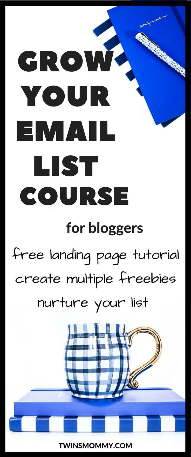 Interested in learning email marketing? If you're a new blogger, starting an email list can be daunting. Create a custom template with ease. Also, create landing pages for free and multiple freebie optins with ease.    email marketing   start a list   grow your email list   mom blogger   grow your blog #EmailMarketing #emaillist #emailing