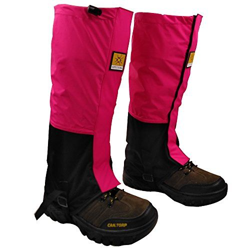 Waterproof Leg Gaiters for men and Womens Running Hiking Walking Mountaineering Lightweight Snowshoes Cover Boot High Gaiters - Rose red   http://huntinggearsuperstore.com/product/waterproof-leg-gaiters-for-men-and-womens-running-hiking-walking-mountaineering-lightweight-snowshoes-cover-boot-high-gaiters/?attribute_pa_color=rose-red