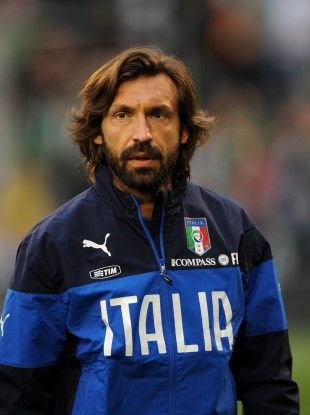 Andrea Pirlo; the master passer and king of the free kick!