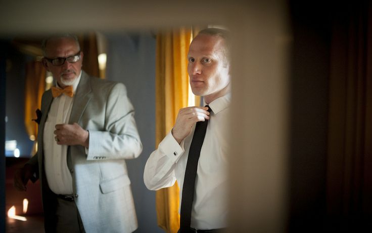 Groom Getting Ready - Intimate Tuscany Wedding in Lucca