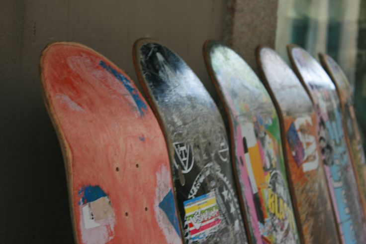 Stoere skateboarden