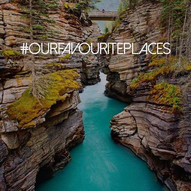 How amazing is this photo from @photojbartlett of Athabasca Falls in Jasper! Just had to share this beautiful shot! Tag your pics with #ourfavouriteplaces to be featured on our feed!
