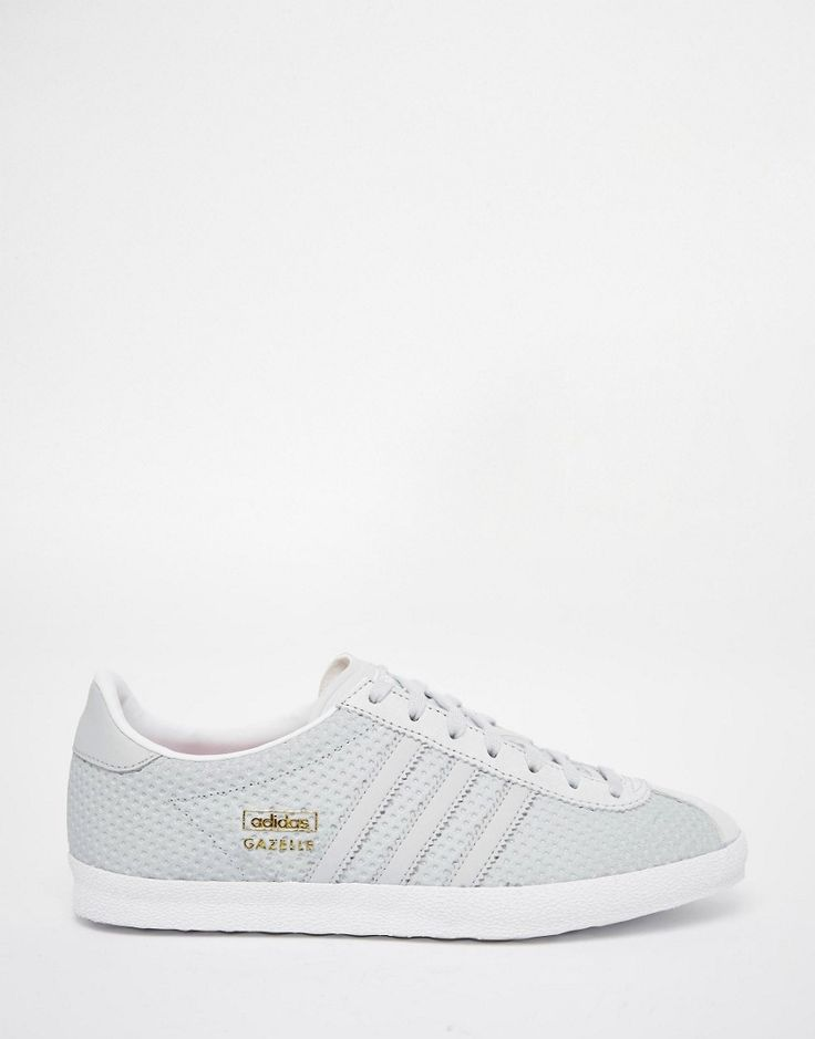 adidas originals gazelle og baskets gris uni
