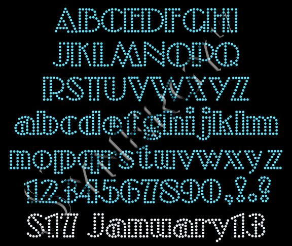 Rhinestone Template Downloads Free Font: 13 Best Images About Rhinestone Fonts On Pinterest