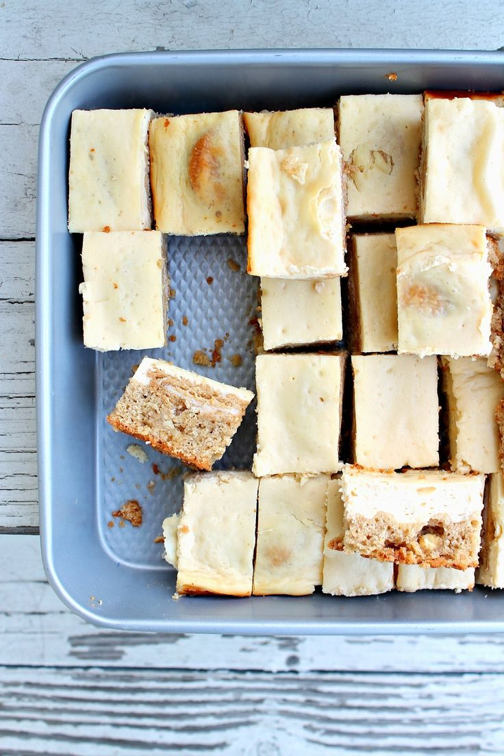 Change up the traditional Thanksgiving desserts with recipes like these Golden Oreo-Stuffed Snickerdoodle Blondie Cheesecake Bars.