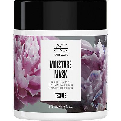 Infuse extremely dry hair with an intense moisture treatment. An extensive blend of naturally hydrating ingredients, including AG's Sea Complex, that penetrate deep into the hair shaft, sealing the cuticle for immediate, long term moisturizing benefits.