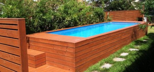 Best 20 above ground fiberglass pools ideas on pinterest for Above ground fiberglass pools