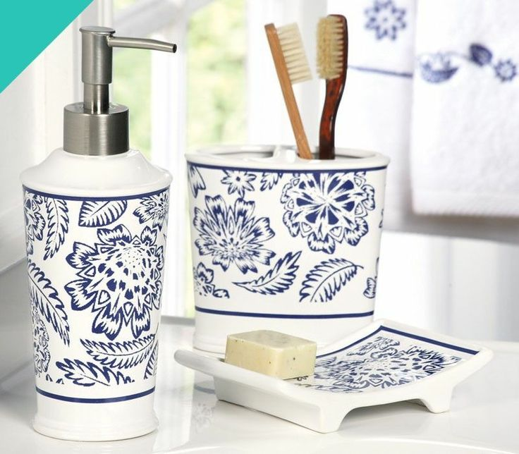 Navy Blue Bathroom Accessories My Web Value