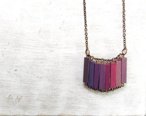 Wood+Geometric+Necklace+//+LOVERS+IN+JAPAN+//+by+Valentinolandia,+€23.00
