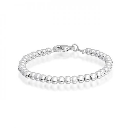 Bling Jewelry Childrens Kids Bracelet 925 Sterling Silver 4mm Ball Bead 6 Inches