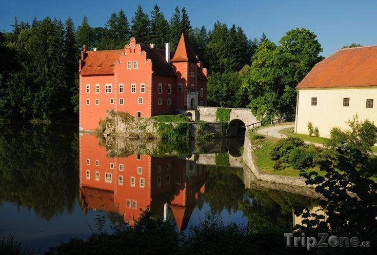 Fotka, Foto Zámek Červená Lhota (Česká republika)