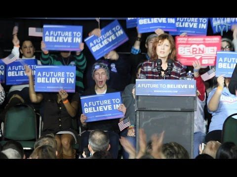 Susan Sarandon Gets Emotional About Bernie Sanders Movement - YouTube  Jan 28, 2016