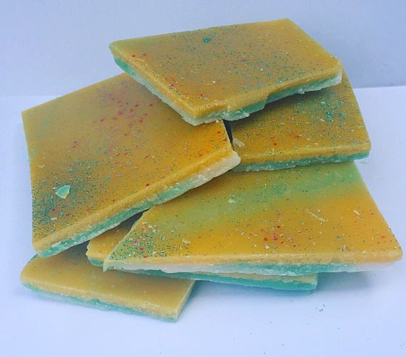 KeyLime & passievruchten zeer geurende Wax Brittles/taarten/Wax smelt