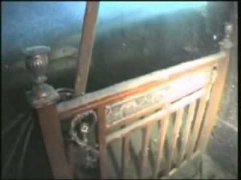 Une video réelle du bateau Titanic au fond de la mer (ce qui reste)