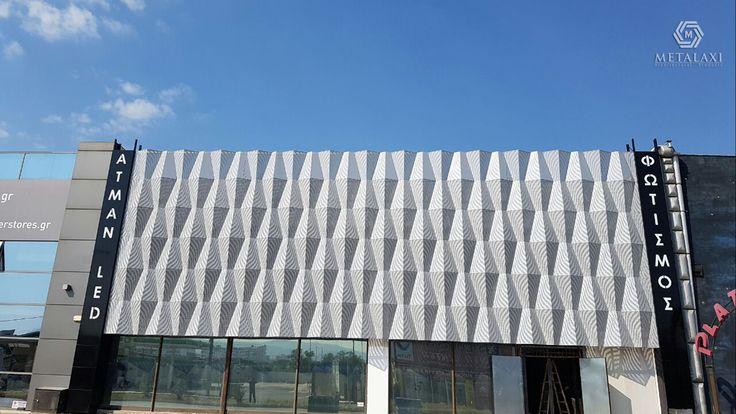 BUILDING FACADE - ΠΡΟΣΟΨΗ ΚΑΤΑΣΤΗΜΑΤΟΣ ΦΩΤΙΣΜΟΥ ΑΤΜΑΝ LED ΣΤΗΝ ΘΕΣΣΑΛΟΝΙΚΗ