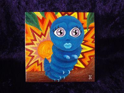 "Sunstruck Wonderland - 4x4"" mini painting from Epheria."