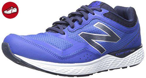 New Balance Men's M520V2 Running Shoe, Blue/Silver, 9 4E US (*Partner-Link)
