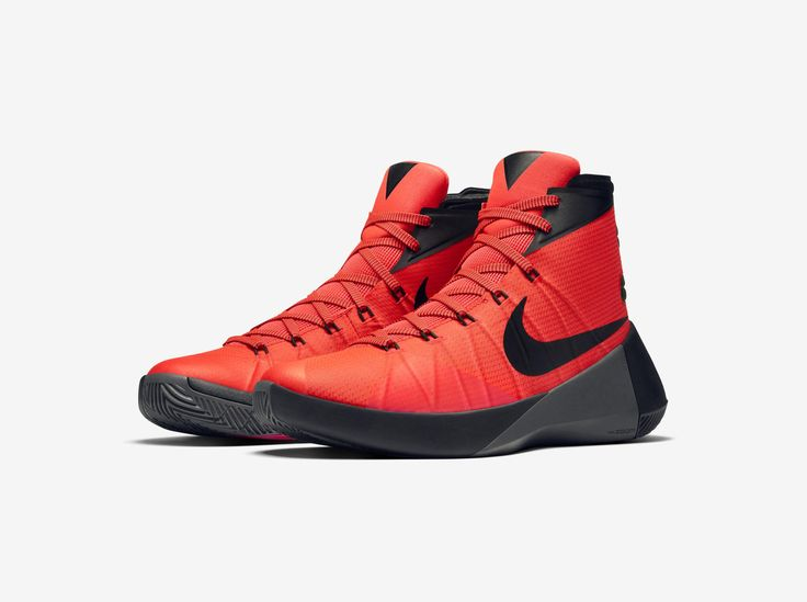 2015 New Nike Hyperdunk 2015 Cheap sale Cool Grey Black Orange