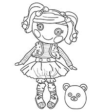 103 best lalaloopsy images on pinterest dolls drawings and free - Lalaloopsy Coloring Pages