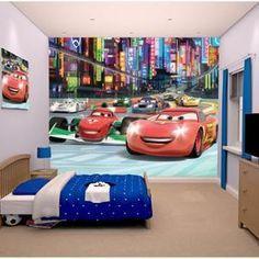 CARS Papier peint enfant Fresque Murale Décorative Flash Mac Queen - Achat / Vente stickers - Soldes* d'hiver dès le 6 janvier Cdiscount