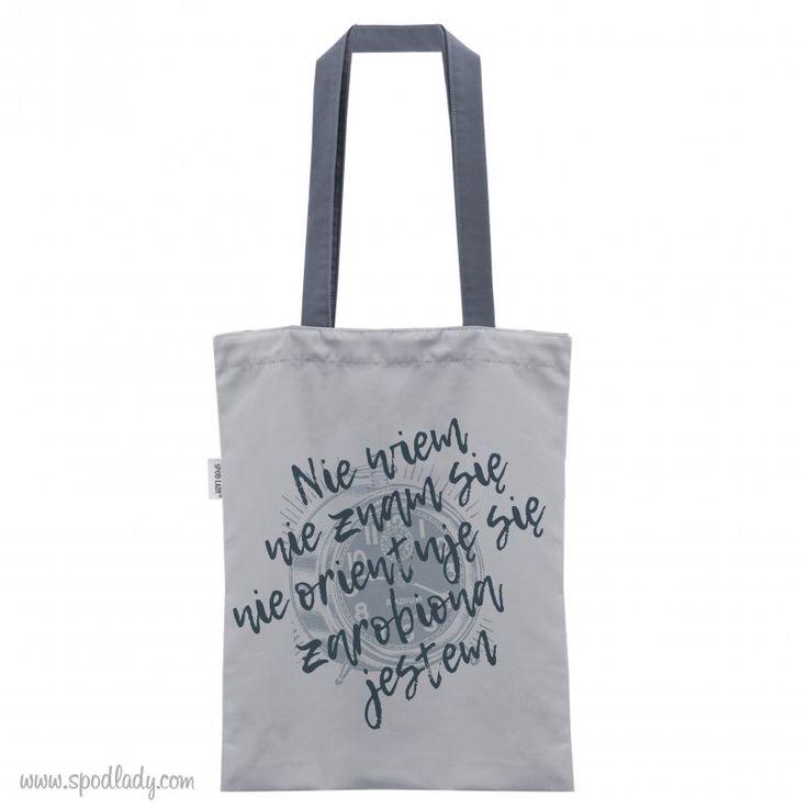 Gdy nic już nie ograniamy możemy przygarnąć taką właśnie torbę.