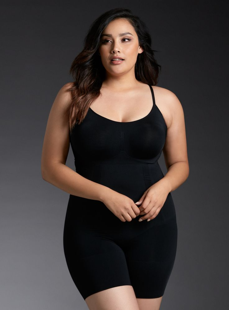 SPANX - OnCore Mid-Thigh Bodysuit