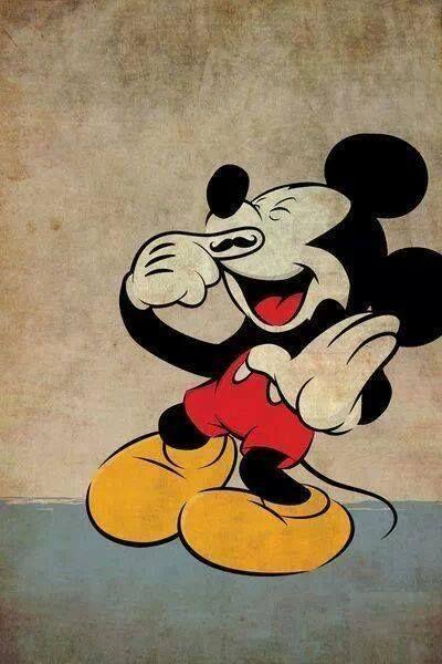 Mickey stache