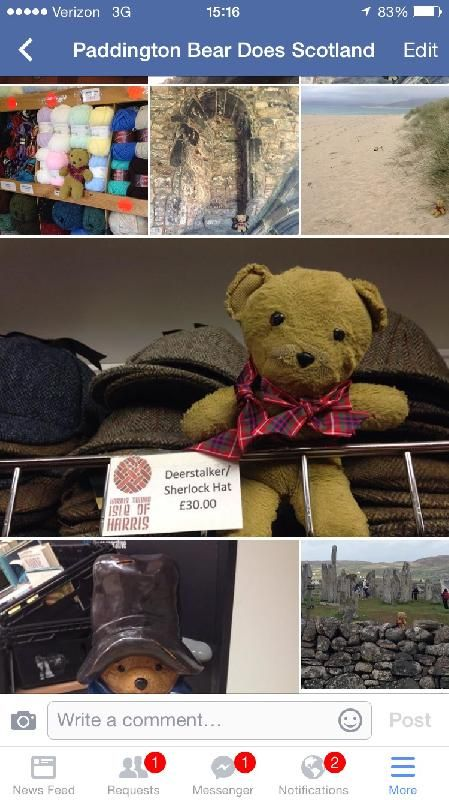 Lost on 25 Oct. 2015 @ Key Bridge Marriott, Arlington, VA. While I was running the Marine Corps Marathon, my teddy bear went missing from my hotel room. I'm devastated, as I have had him since I was a baby, and I'm in my 30s now. He is tan, about 8-10 inch... Visit: https://whiteboomerang.com/lostteddy/msg/q7oi9t (Posted by Katie on 03 Nov. 2015)