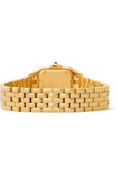 Cartier - Panthère De Cartier Medium 18-karat Gold Watch - one size