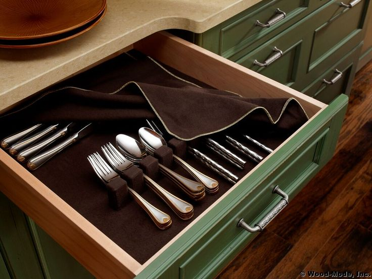 84 best images about cabinet accessories on pinterest for Silverware storage no drawers