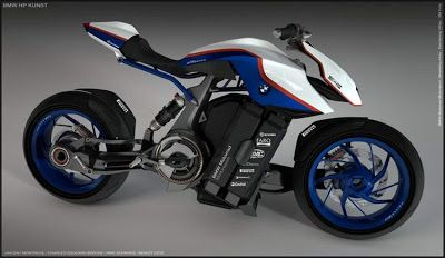 BMW HP Eco Concept Kunst Motorcycle - Pappa's Blog