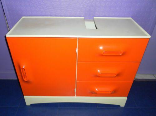 Meuble Commode Vintage Prisunic Design POP Annees 60 70 Space AGE Panton ERA | eBay