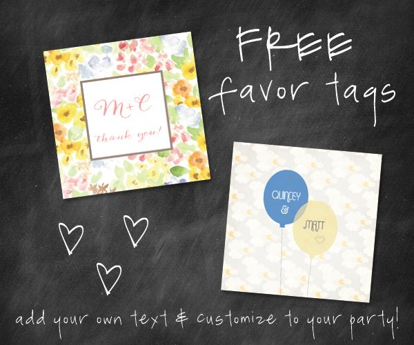 free favor tags