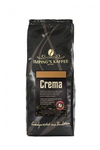 Cafea espresso boabe Crema - foarte cremoasă cu o aromă fină și un gust puternic și plăcut.