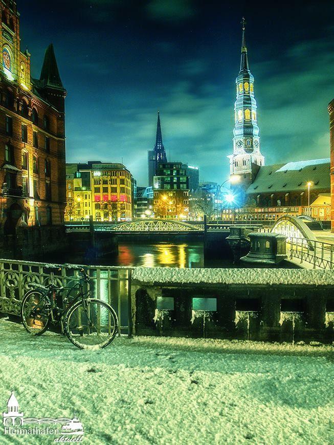 Hamburg, St. Katharinen im Winter www.heimathafen-aktuell-hamburg-fotografie.de #germany
