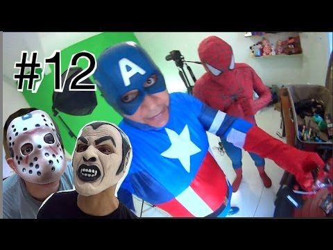 #12 Homem Aranha Spider-Man Capitão América Marvel Vingadores  ATAQUE d ...