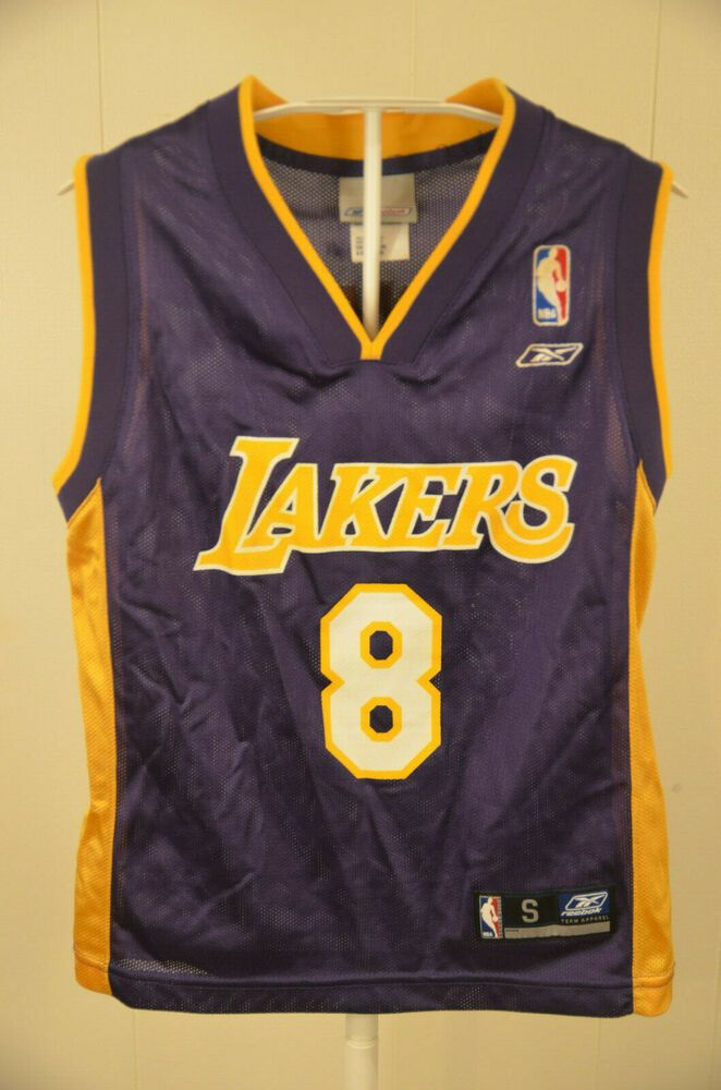1ad7bded4 Reebok Los Angeles Lakers Jersey  8 Kobe Bryant NBA Kids Youth Small (8)  Purple  Reebok  LosAngelesLakers