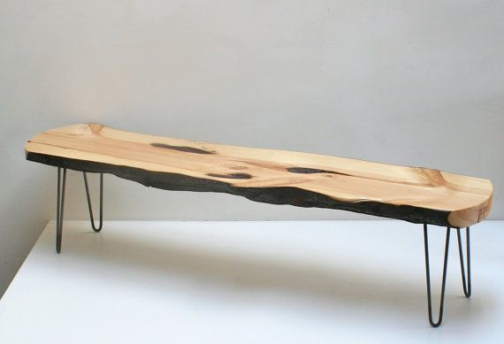 Coffee Table Fire Burned Rescued Wood Raw Steel By Realwoodworks1 Furniture Classy