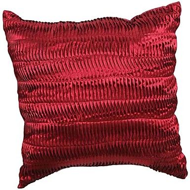 Modern Solid Striped Polyester Decorative Pillow Cover – USD $ 19.99