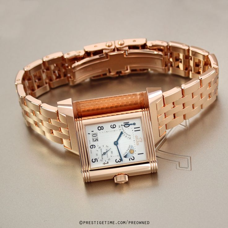 Pre-owned Jaeger LeCoultre Reverso Septantieme 3002120 in Gently Used to Excellent Condition from The Most Trusted Name in Luxury Watches. PrestigeTime.com