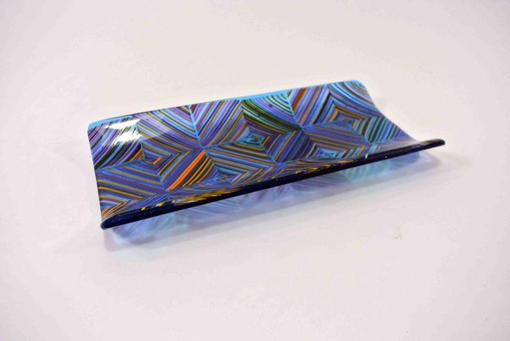 SiJu Glass 581 Broken Twill 12 Platter 11x24cm