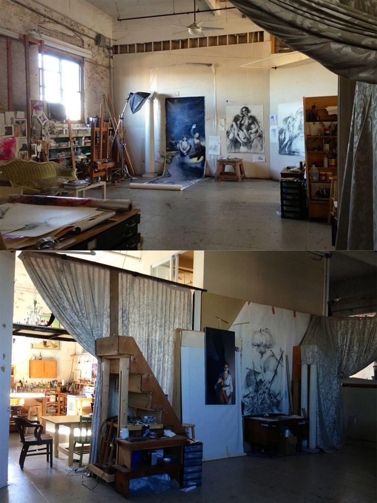 Maria Kreyns Studio workspace All Home