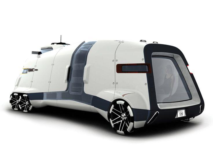 Desktop Wallpaper-s > Cars > GMC PAD Motorhome Concept 2006